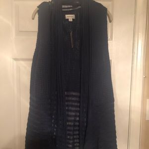 Blue sweater vest. Size 18/20. New with tags